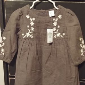 GAP Embroidered Detail Dress